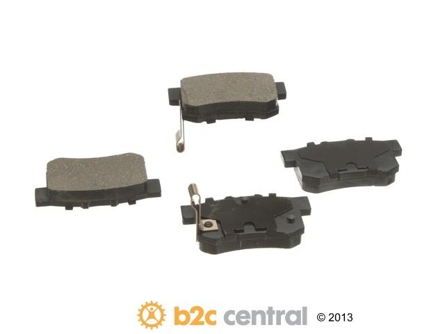 FBS - Advics Ceramic OE Formulated Brake Pad Set w/ Shims (Rear) - B2C W0133-1821061-ADV