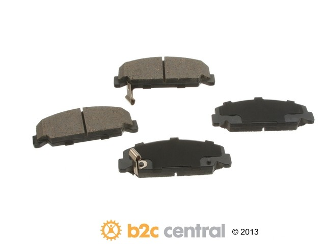 FBS - Advics Ceramic Brake Pad Set w/ Shims (Front) - B2C W0133-1821067-ADV
