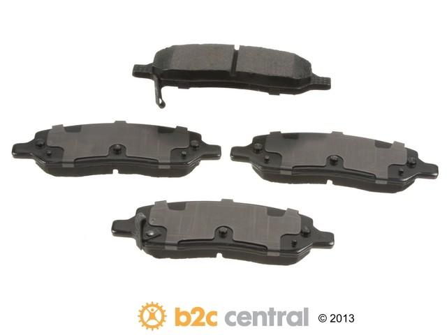 FBS - PBR Deluxe Brake Pad Set w/o Shims (Rear) - B2C W0133-1827216-PBR