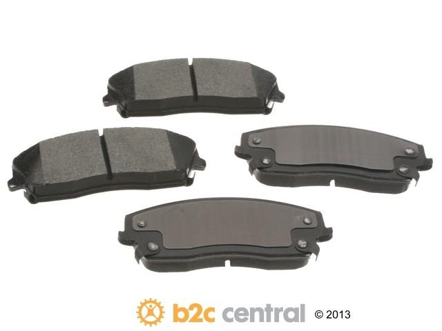 FBS - PBR XBG - Semi-Metallic Brake Pad Set w/o Shims (Front) - B2C W0133-1827256-PBR