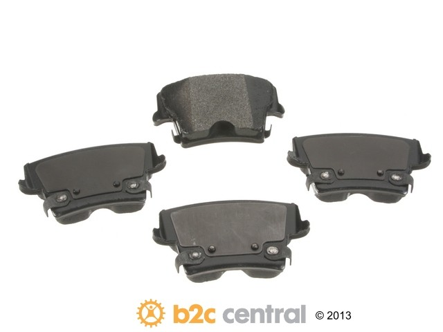 FBS - PBR XBG - Semi-Metallic Brake Pad Set w/o Shims (Rear) - B2C W0133-1827258-PBR