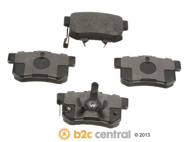 FBS - PBR 4WD Super Brake Pad Set With Shims (Rear) - B2C W0133-1827325-PBR