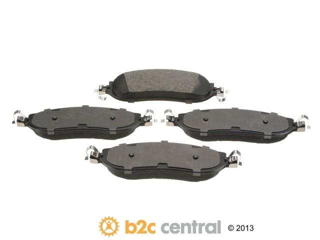 FBS - PBR 4WD Super Brake Pad Set Semi-Metallic w/ Shims (Rear) - B2C W0133-1827753-PBR