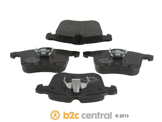 FBS - Pagid OE Replacement Brake Pad Set w/ Shims (Front) - B2C W0133-1827812-PAG