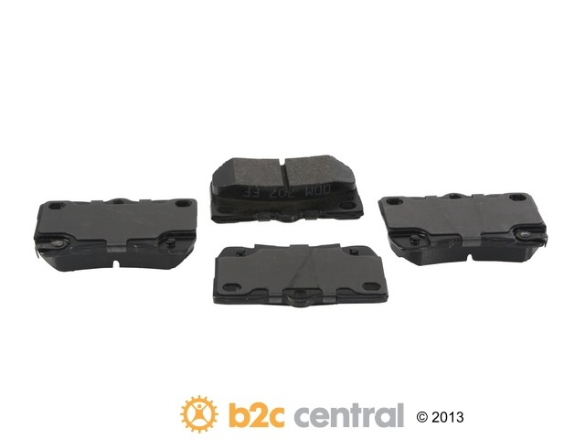 FBS - PBR Deluxe Brake Pad Set w/o Shims (Rear) - B2C W0133-1828327-PBR
