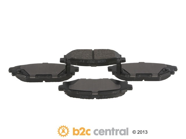 FBS - PBR Deluxe Brake Pad Set w/o Shims (Rear) - B2C W0133-1828373-PBR