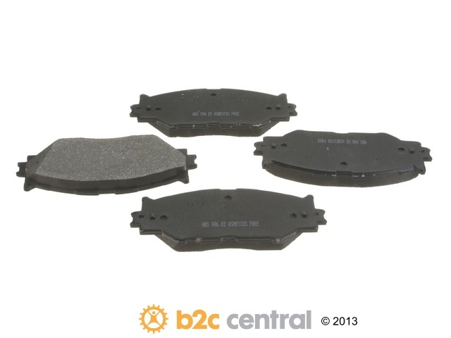 FBS - NPN OE Formulated Brake Pad Set w/o Shims (Front) - B2C W0133-1829105-NPN