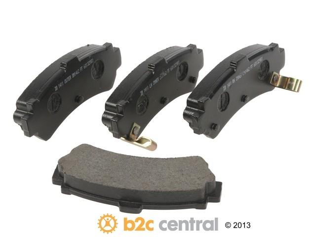 FBS - PBR Deluxe Brake Pad Set w/o Shims (Rear) - B2C W0133-1830863-PBR