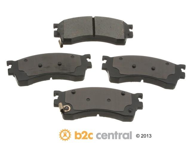 FBS - Advics Ceramic Brake Pad Set w/ Shims (Front) - B2C W0133-1831908-ADV