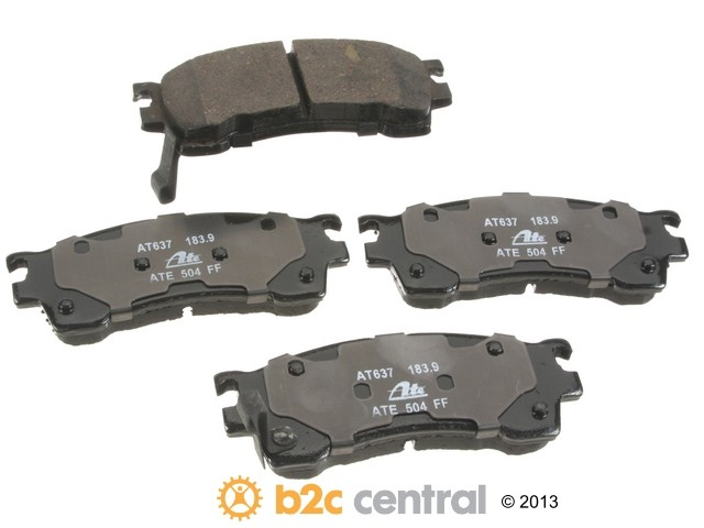 FBS - ATE Premium One Ceramic Brake Pad Set With Shims (Front) - B2C W0133-1831908-APC