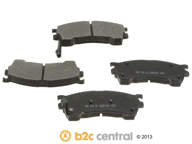 FBS - NPN OE Formulated Brake Pad Set w/o Shims (Front) - B2C W0133-1831908-NPN