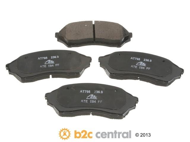 FBS - ATE Premium One Ceramic Brake Pad Set With Shims (Front) - B2C W0133-1831909-APC