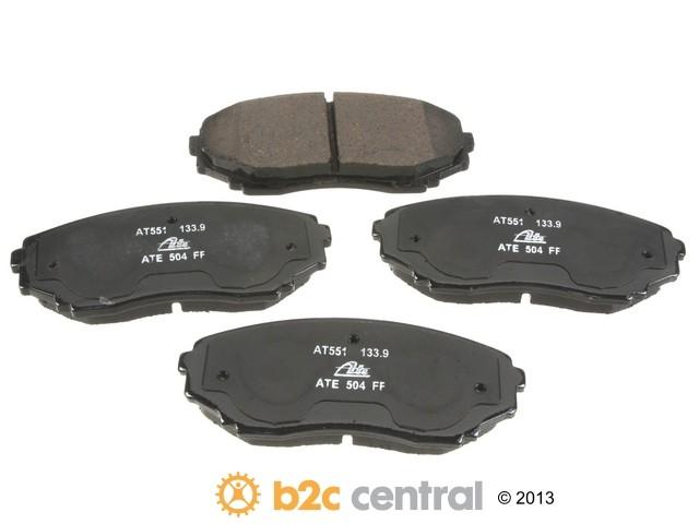 FBS - ATE Premium One Ceramic Brake Pad Set With Shims (Front) - B2C W0133-1833407-APC