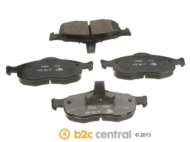 FBS - ATE Premium One Ceramic Brake Pad Set With Shims (Front) - B2C W0133-1834197-APC