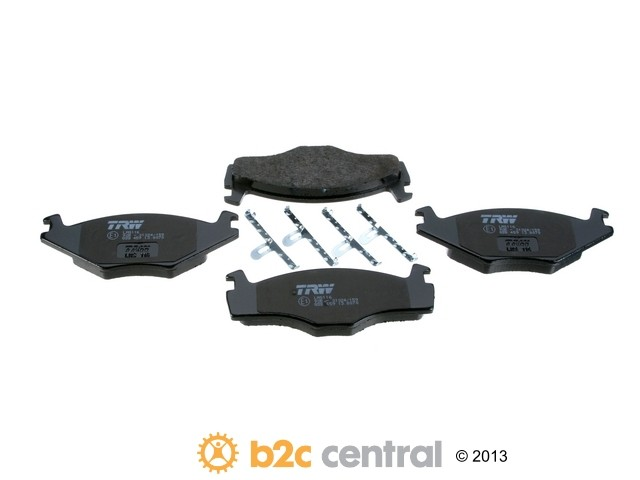 FBS - TRW OE Replacement Brake Pad Set w/ Shims (Front) - B2C W0133-1834223-TRW