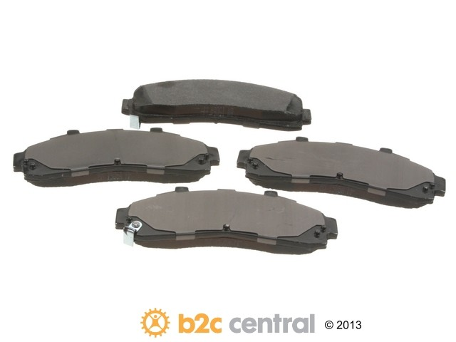 FBS - PBR XBG - Semi-Metallic Brake Pad Set w/o Shims (Front) - B2C W0133-1840086-PBR