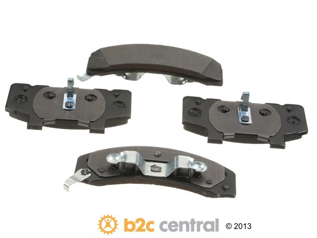 FBS - PBR 4WD Super Brake Pad Set With Shims (Front) - B2C W0133-1840213-PBR
