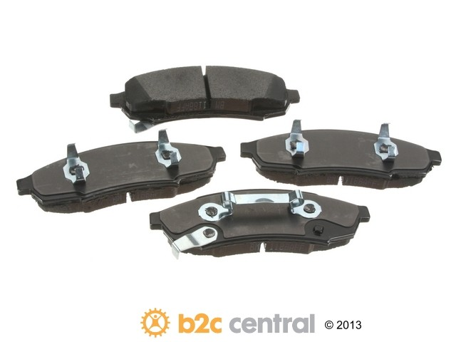 FBS - PBR 4WD Super Brake Pad Set With Shims (Front) - B2C W0133-1840266-PBR