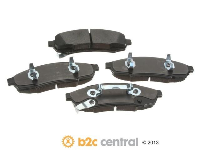 PBR -  4WD Super Brake Pad Set Semi-Metallic w/ Shims (Front) - B2C W0133-1840266-PBR