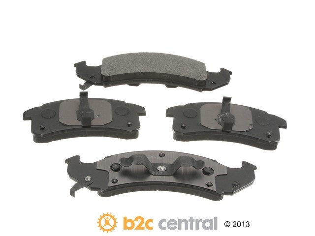 FBS - PBR 4WD Super Brake Pad Set With Shims (Front) - B2C W0133-1840291-PBR