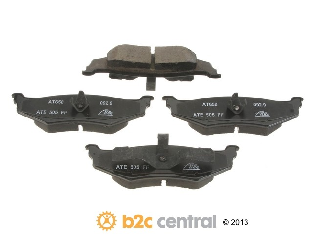 FBS - ATE Premium One Ceramic Brake Pad Set With Shims (Rear) - B2C W0133-1845880-APC