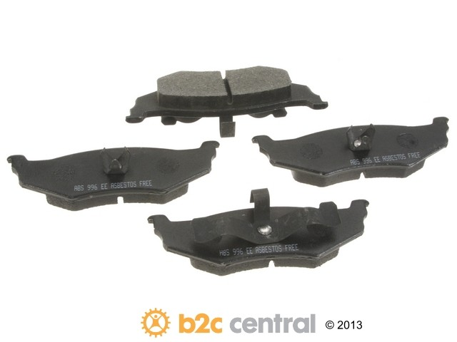 FBS - NPN OE Formulated Brake Pad Set w/o Shims (Rear) - B2C W0133-1845880-NPN