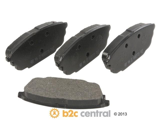 FBS - NPN OE Formulated Brake Pad Set w/o Shims (Rear) - B2C W0133-1846041-NPN