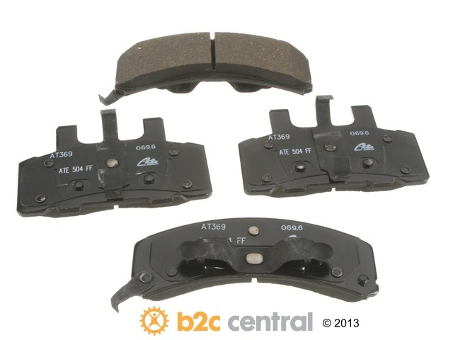 FBS - ATE Premium One Ceramic Brake Pad Set With Shims (Front) - B2C W0133-1846765-APC