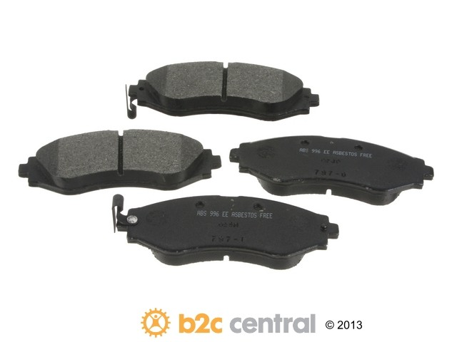 FBS - NPN OE Formulated Brake Pad Set w/o Shims (Front) - B2C W0133-1847697-NPN