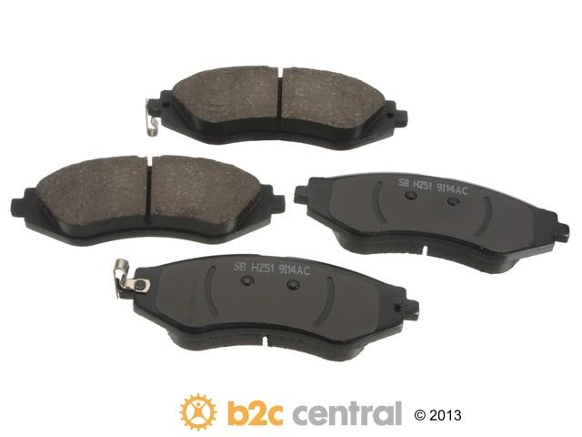 FBS - Sangsin Ceramic Brake Pad Set With Shims (Front) - B2C W0133-1847697-SBC