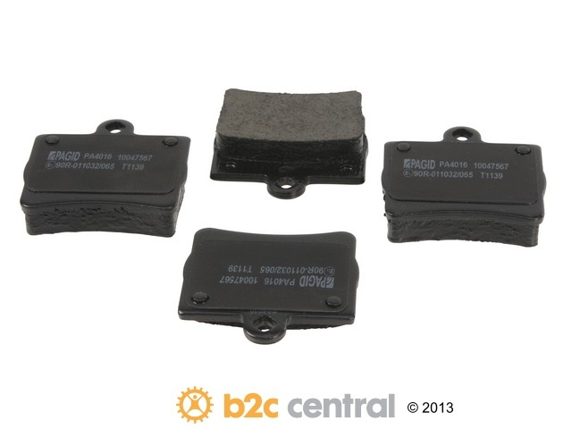 FBS - Pagid OE Formulated Brake Pad Set With Shims (Rear) - B2C W0133-1848923-PAG