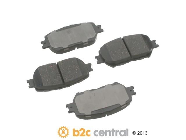 FBS - Advics Ceramic Brake Pad Set w/ Shims (Front) - B2C W0133-1893588-ADV
