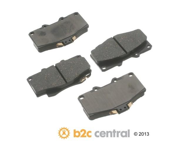 FBS - Advics Ceramic OE Replacement Brake Pad Set w/o Shims (Front) - B2C W0133-1893640-ADV