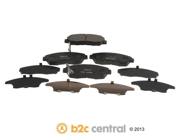 FBS - Nissin Premium Brake Pad Set With Shims (Front) - B2C W0133-1894978-NIS