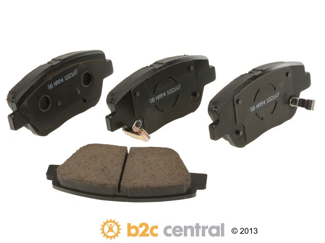 FBS - Sangsin Ceramic Brake Pad Set With Shims (Front) - B2C W0133-1897501-SBC