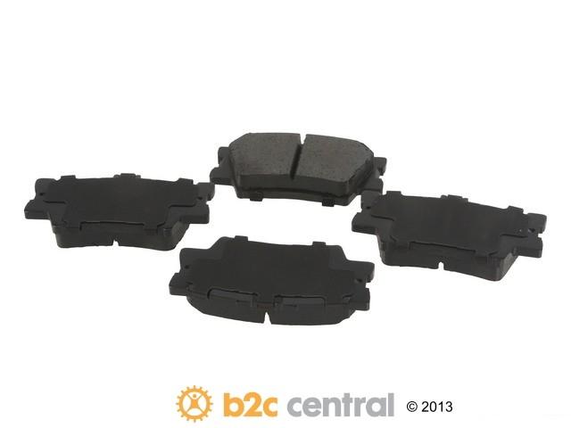 FBS - Advics Ceramic OE Replacement Brake Pad Set w/o Shims (Rear) - B2C W0133-1915605-ADV
