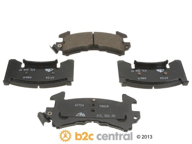 FBS - ATE Premium One Ceramic Brake Pad Set With Shims (Front) - B2C W0133-1921260-APC