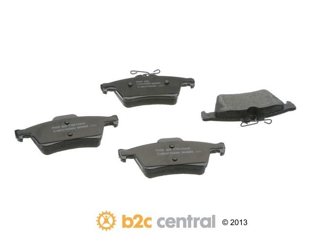 FBS - Pagid OE Formulated Brake Pad Set With Shims (Rear) - B2C W0133-1936823-PAG