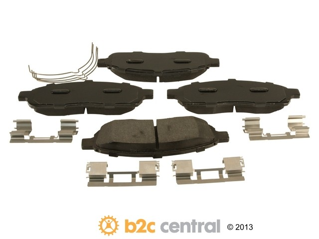FBS - Motorcraft Standard Premium Brake Pad Set With Shims (Front) - B2C W0133-1952346-MTR
