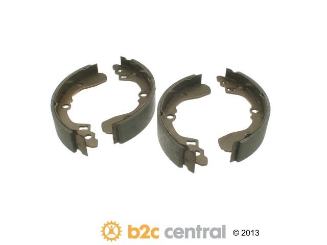 FBS - Genuine Drum Brake Shoe Set (Rear) - B2C W0133-1621284-OES