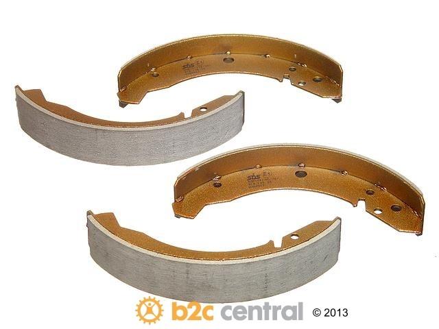 FBS - SBS Drum Brake Shoe Set (Rear) - B2C W0133-1629989-SBS