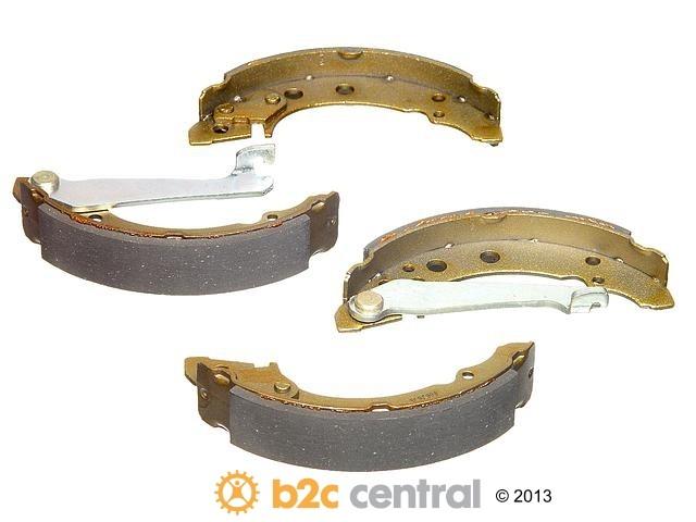 FBS - SBS Drum Brake Shoe Set (Rear) - B2C W0133-1630524-SBS
