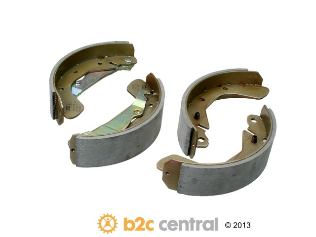 FBS - SBS Drum Brake Shoe Set (Rear) - B2C W0133-1654957-SBS