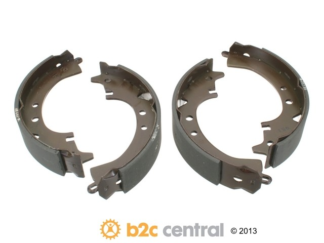 FBS - MK Kashiyama Drum Brake Shoe Set (Rear) - B2C W0133-1850806-MK