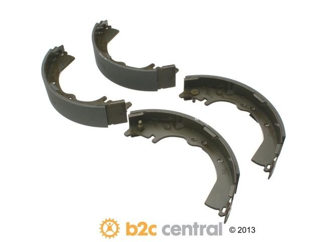 FBS - MK Kashiyama Drum Brake Shoe Set (Rear) - B2C W0133-1850907-MK