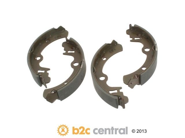 FBS - MK Kashiyama Drum Brake Shoe Set (Rear) - B2C W0133-1851057-MK
