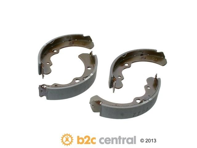 FBS - MK Kashiyama Drum Brake Shoe Set (Rear) - B2C W0133-1851058-MK