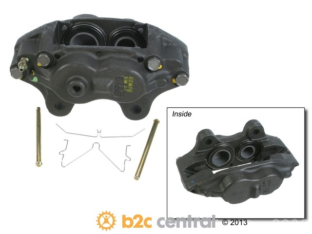 FBS - Cardone A1 Cardone Reman Brake Caliper w/o Bracket (Front Right) - B2C W0133-1741221-CAR