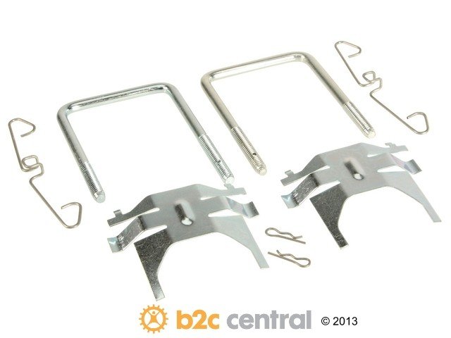 FBS - Professional Parts Sweden Brake Hardware Kit - B2C W0133-1633625-PPS