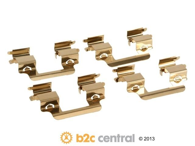 FBS - ALLMAKES 4X4 Brake Hardware Kit - B2C W0133-1913363-AMR